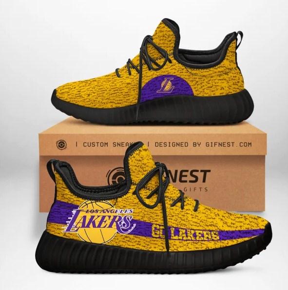 Los Angeles Lakers NBA Yeezy Sneaker