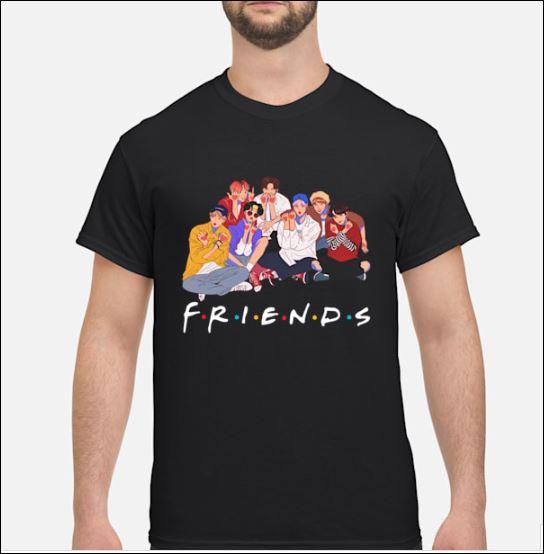 Fanstatic BTS Friends tv show shirt