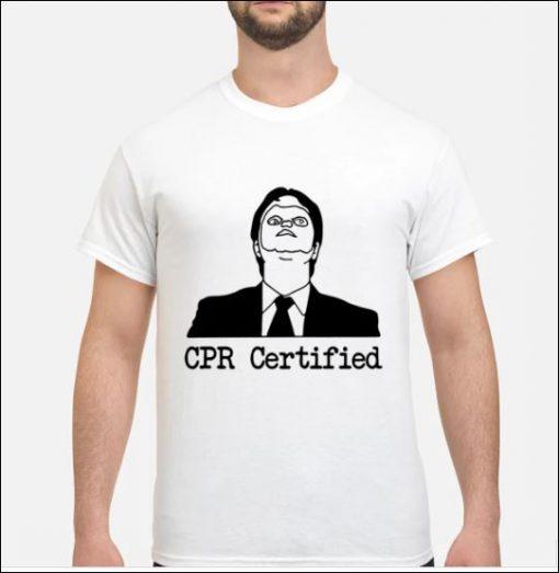 Bestseller CPR certified shirt