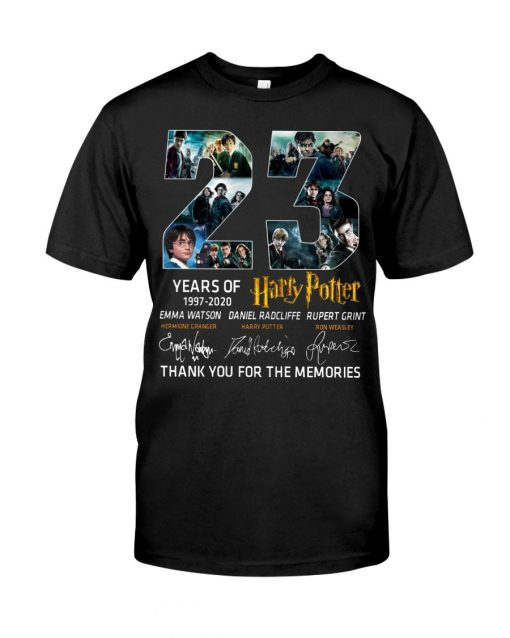 23 Years of Harry Potter shirt, tank top, hoodie