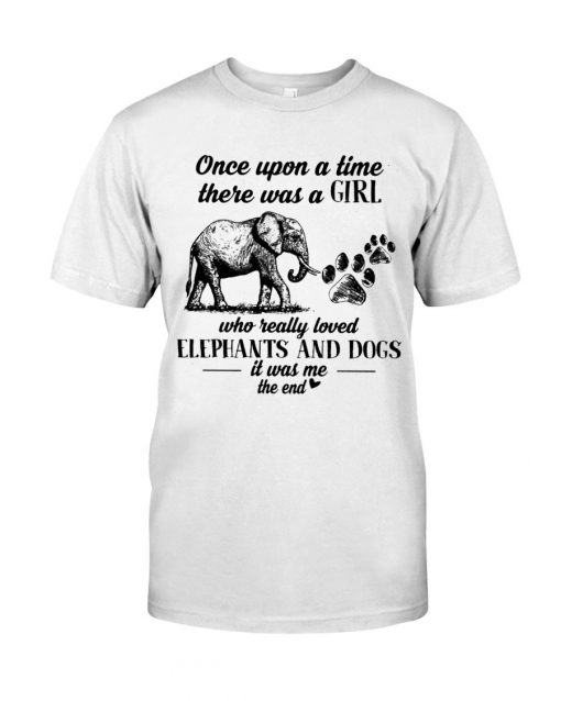 Once upon a time there was a girl who really loves elephants and tattoos shirt, tank top, hoodie