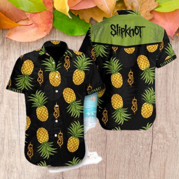 Slipknot pineapple hawaiian shirt