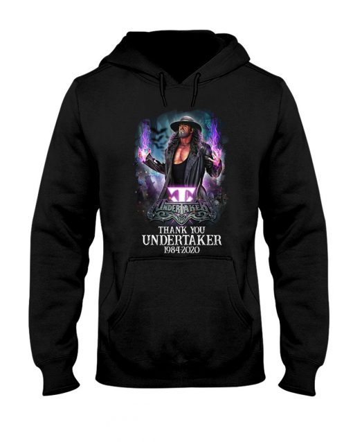 Thank You Undertaker 1984-2020 shirt, hoodie, tank top