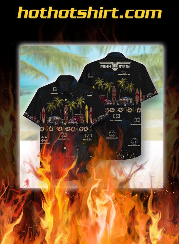 Rammstein Beach hawaiian shirt