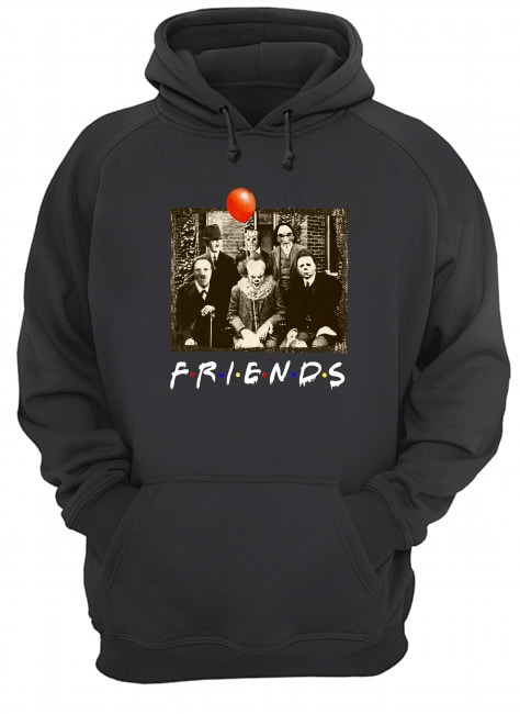 Friends horror film characters shirt, tank top, hoodie