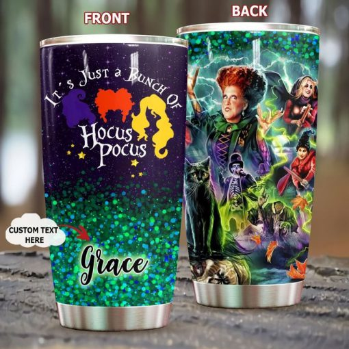 Just a bunch of Hocus Pocus personalized tumbler
