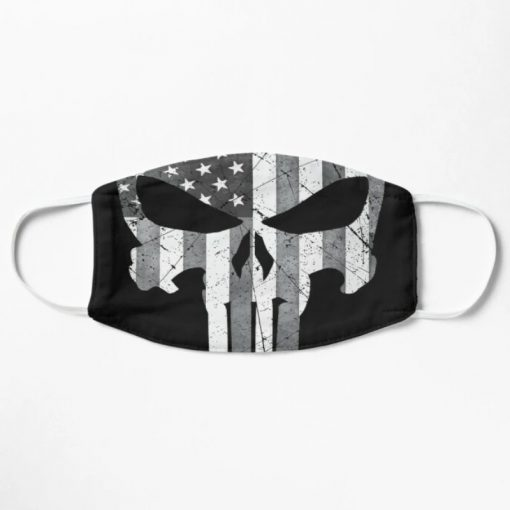 The Punisher American Flag face mask