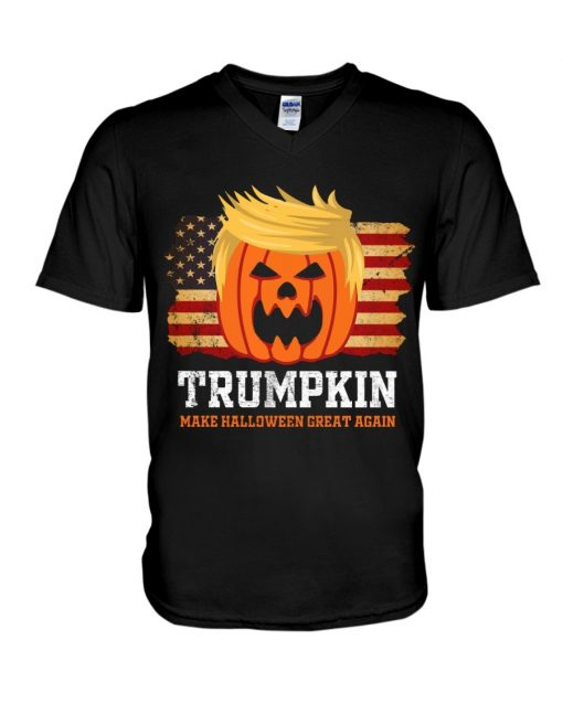 Trumpkin make halloween great again shirt, tank top, hoodie