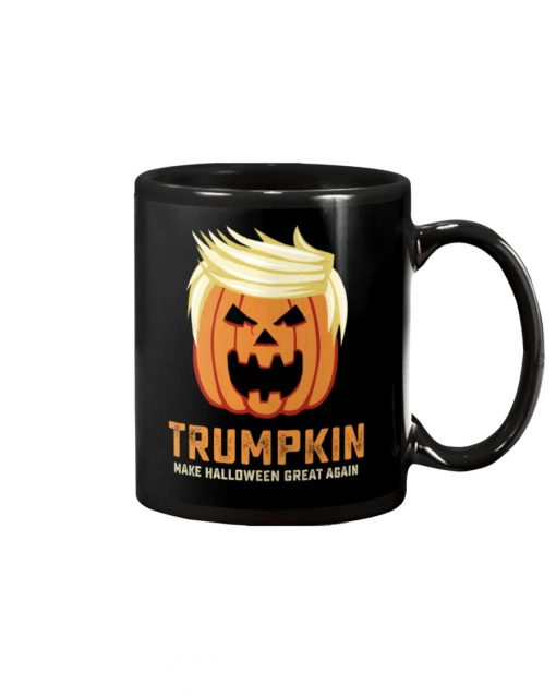Trumpkin make halloween great again mug