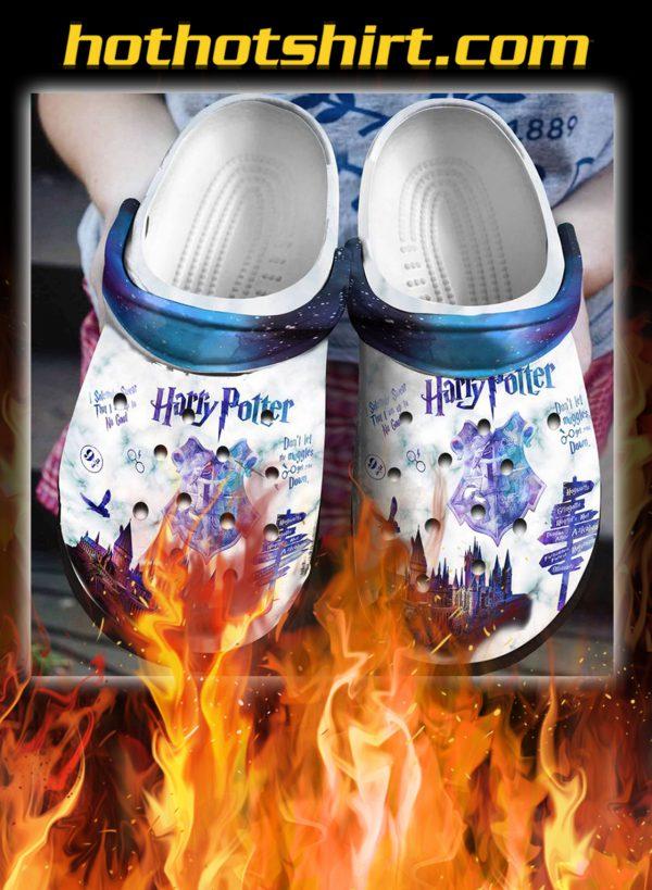 Harry potter crocband crocs shoes