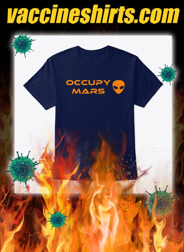 Occupy mars 1.0 shirt