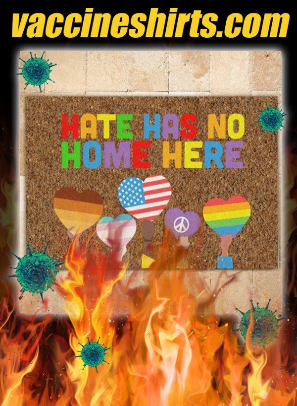 Hate has no home here doormat