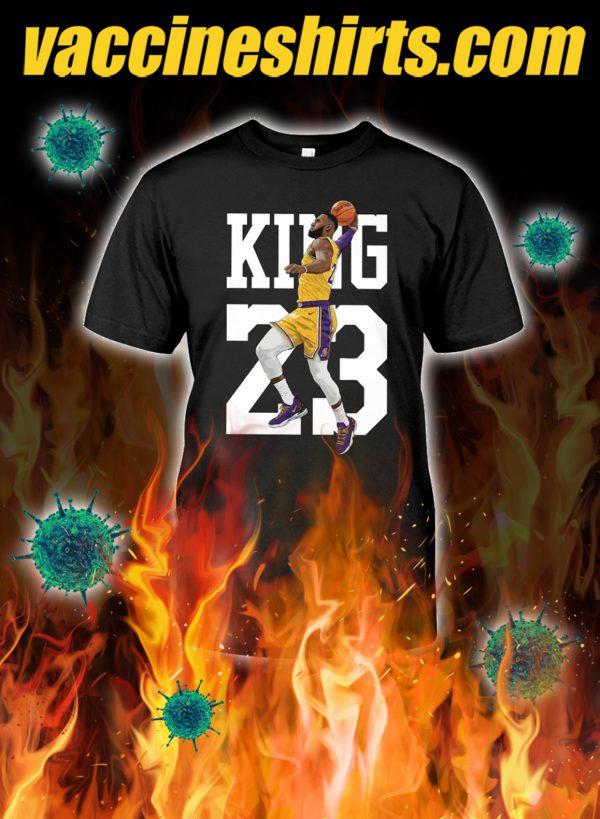 Lebron james king 23 shirt and hoodie