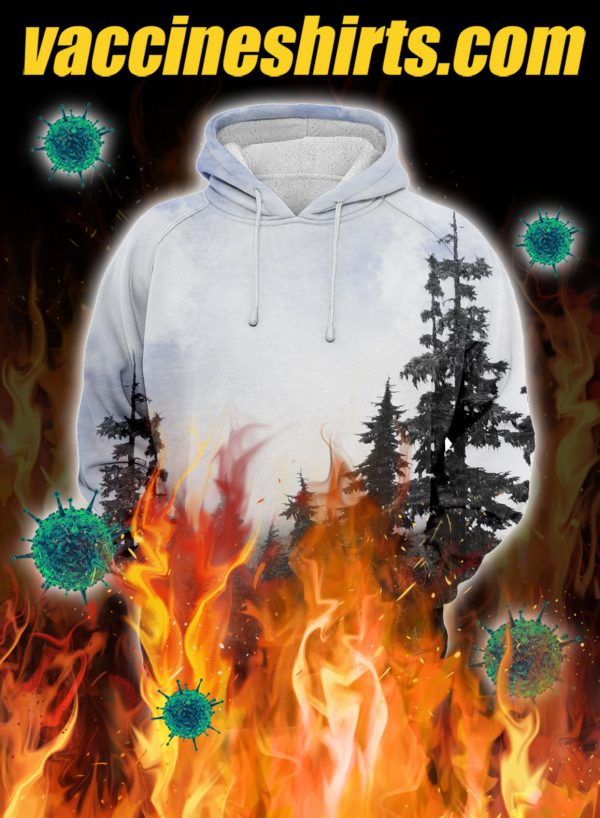 Chilly morning unisex 3d hoodie