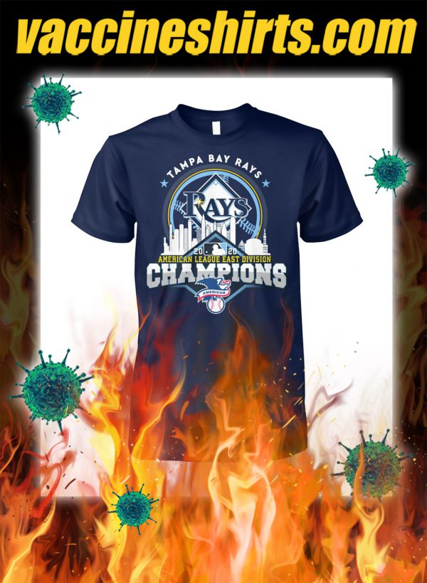 Tampa bay rays american league east division champions shirt