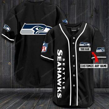 Hot season custom name jersey seattle seahawks shirt