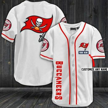 New ver personalized name jersey tampa bay buccaneers full printing shirt