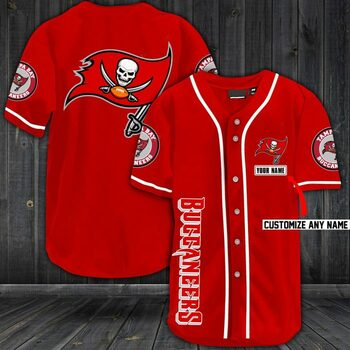 New ver personalized name jersey tampa bay buccaneers shirt