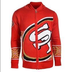 New ver san francisco 49ers nfl full over print shirt