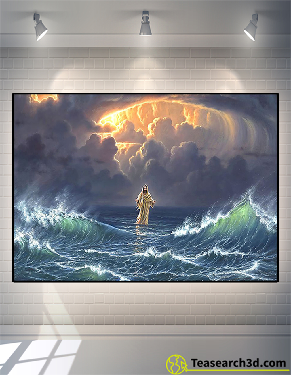 [LIMITED] Poster In the storm Jesus walked on the water