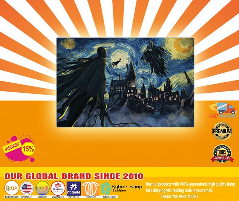 [LIMITED] Poster Dementor of azkaban Starry Night Van Gogh