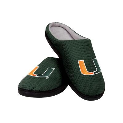 Amazing miami hurricanes football full over printed slippers