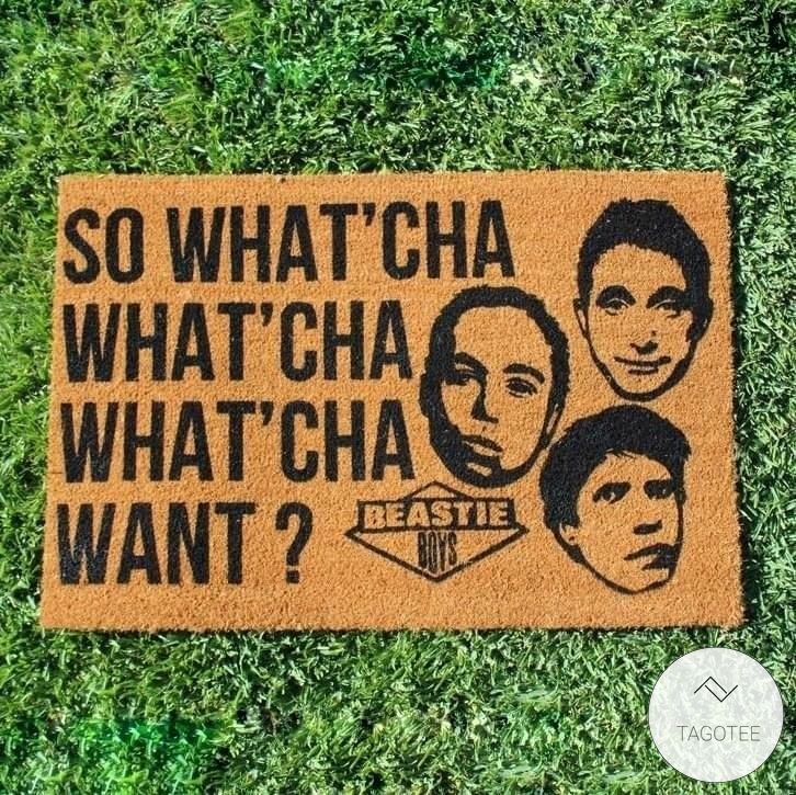 Beastie Boys – So What'Cha Want Doormat
