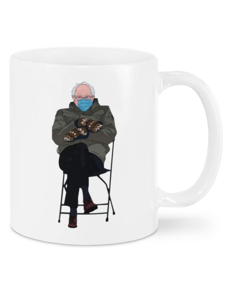 Bernie sanders mittens mug