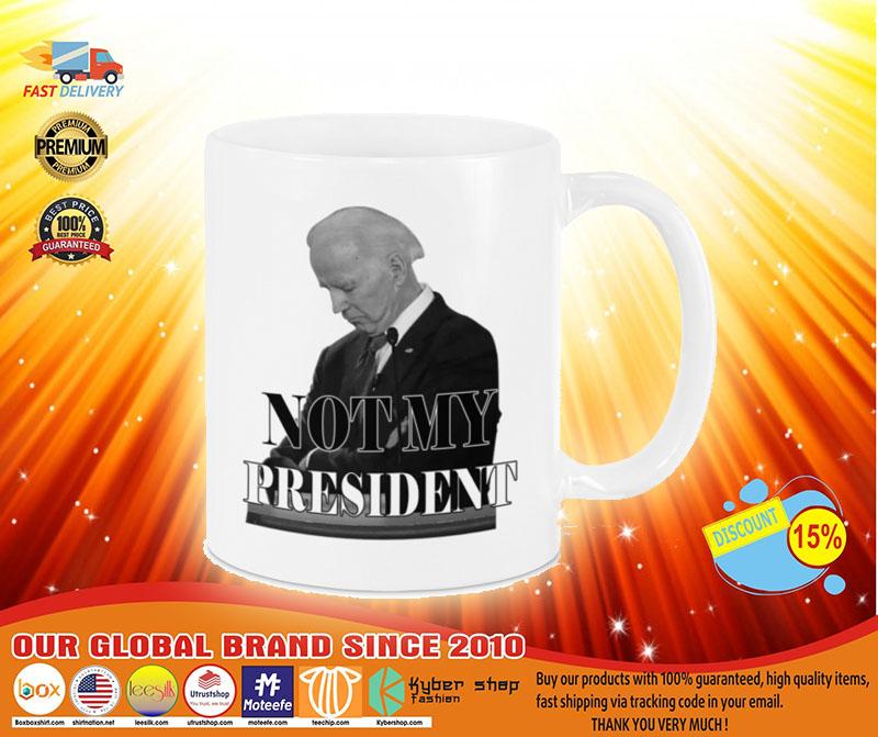 [LIMITED] Biden not my president mug