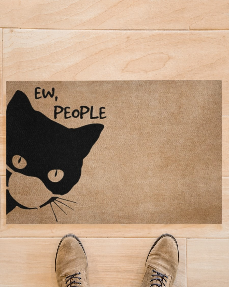 [LIMITED] Cat ew people doormat