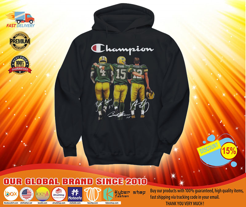 [LIMITED] Champion Green Bay Packers favre starr rodgers shirt