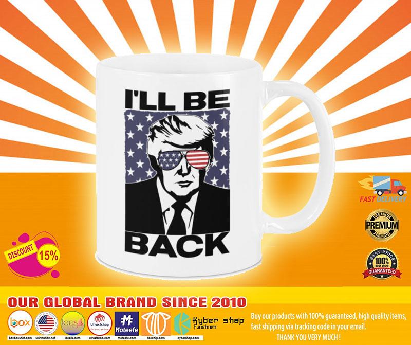 [LIMITED] Donald Trump I will be back mug