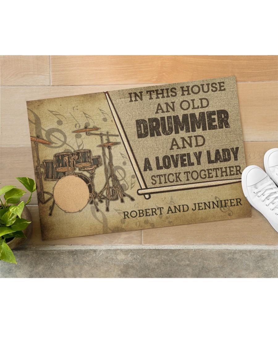 [LIMITED] Drummer and a lovely lady doormat