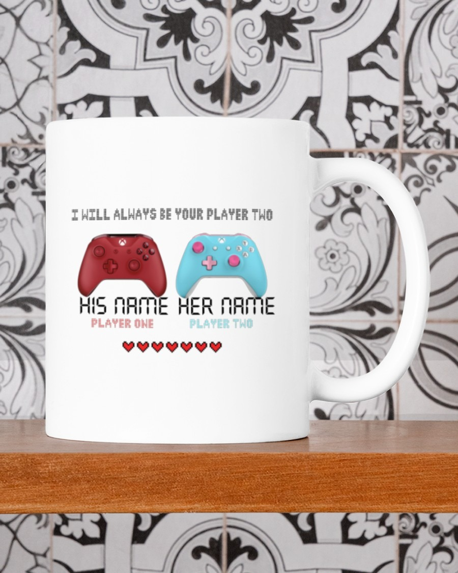 [LIMITED] Game controller I will always be your player two mug