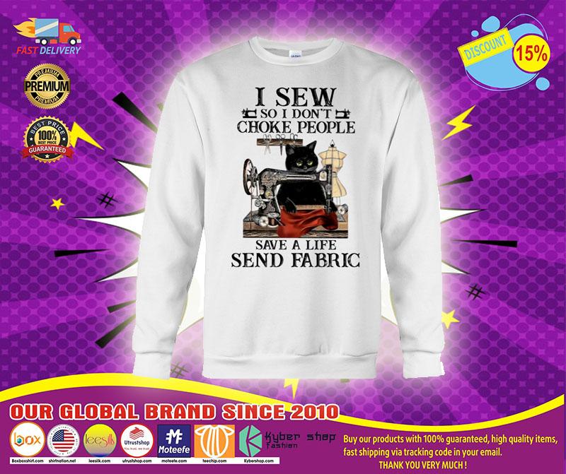 [LIMITED] I sew so I don't choke people save a life send fabric shirt