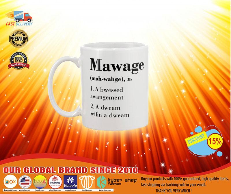 [LIMITED] Mawage a bwessed awangement mug