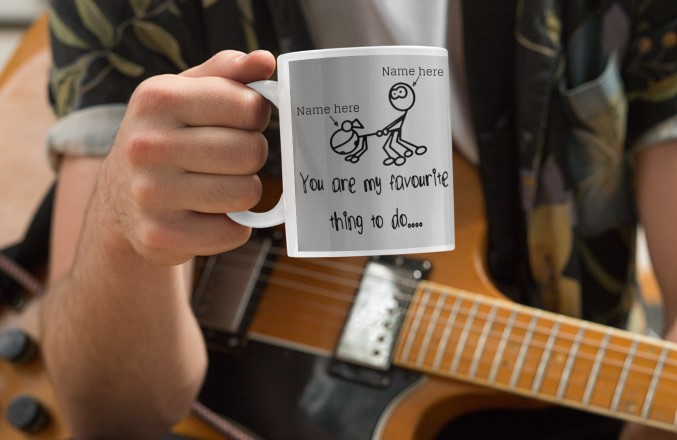 [LIMITED] Personalized Mug You Are My Favourite Thing To Do