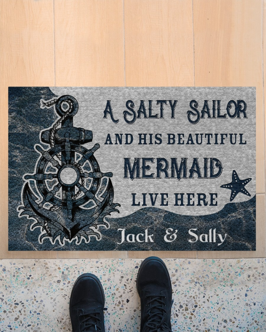 [LIMITED] Poster A salty sailor and his beautiful mermaid