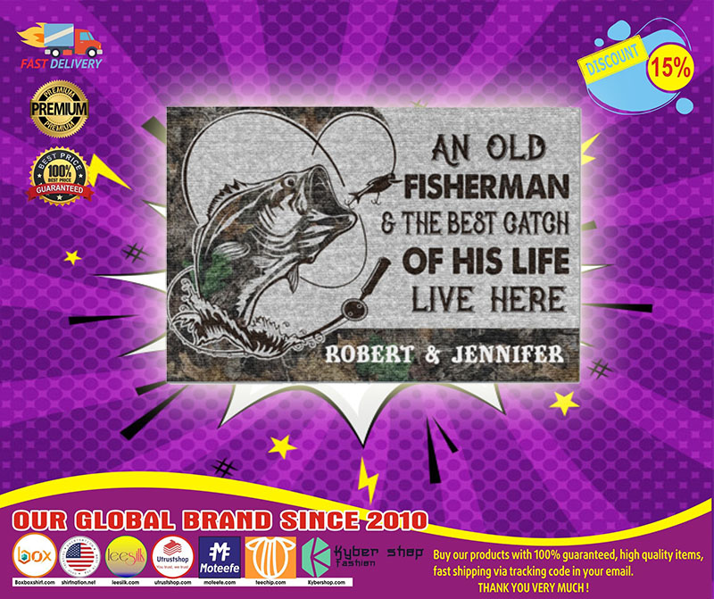 [LIMITED] Poster An old fisherman and the best catch of his life live here