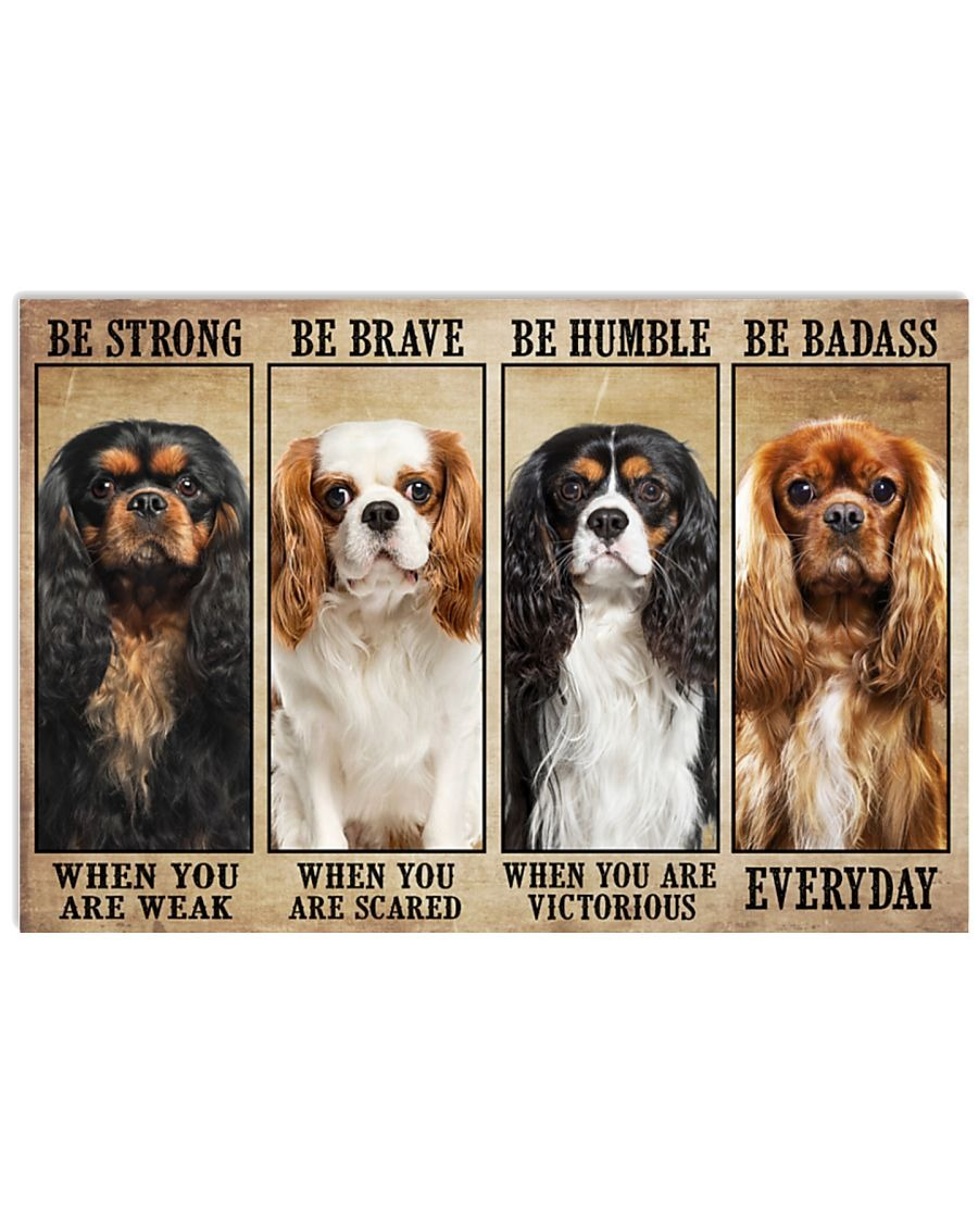 [LIMITED] Poster Cavalier be strong be brave be humble be badass