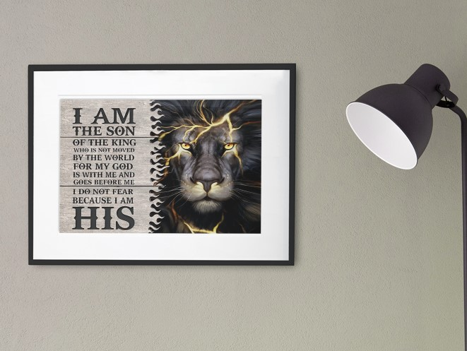 [LIMITED] Poster I am the son of the king