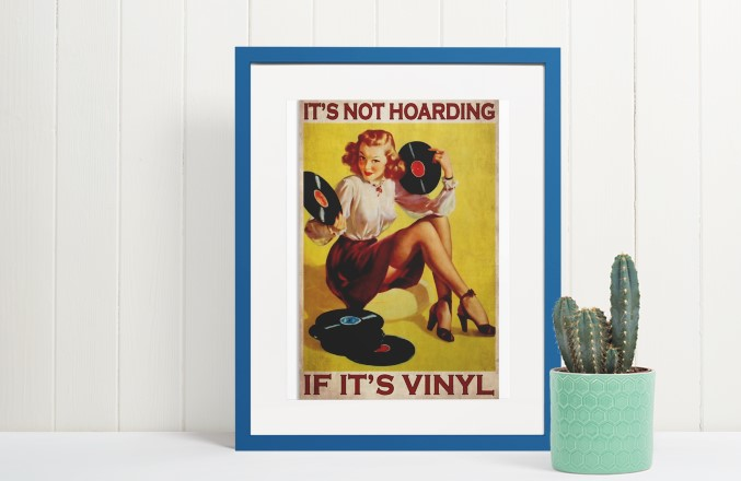 [LIMITED] Poster It's not hoarding if it's vinyl