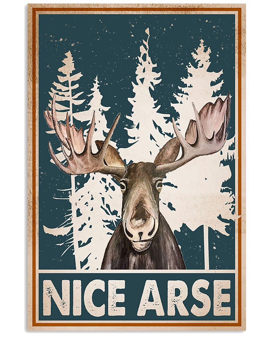 [LIMITED] Poster Moose nice arse