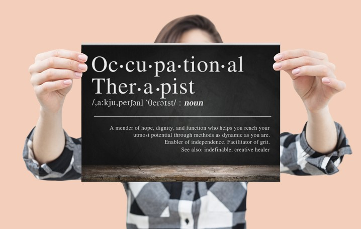 [LIMITED] Poster Occupational therapist definition