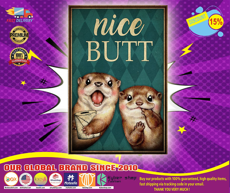 [LIMITED] Poster Otter nice butt