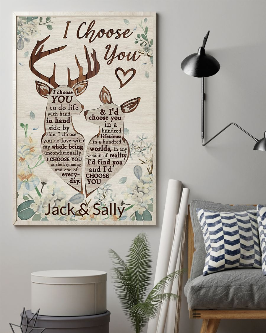 [LIMITED] Poster Personalized Deer I choose you