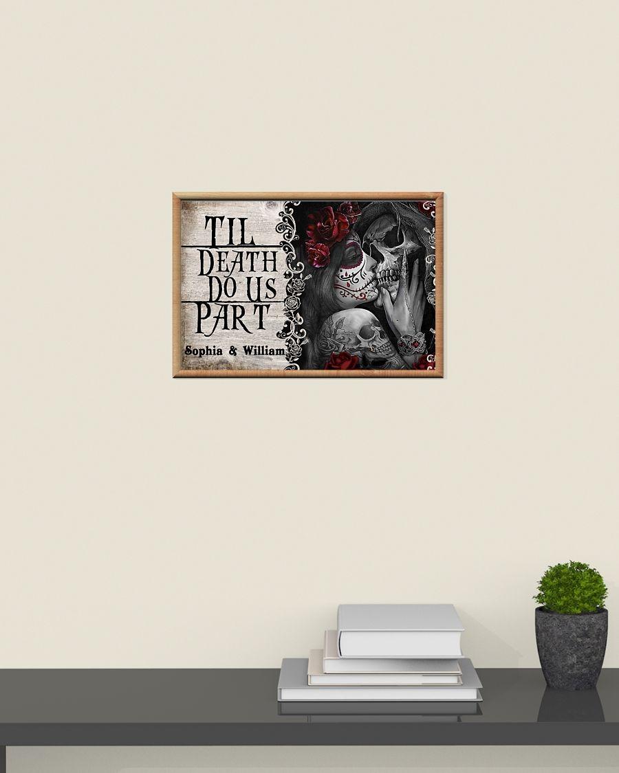 [LIMITED] Poster Skeleton til death do us part