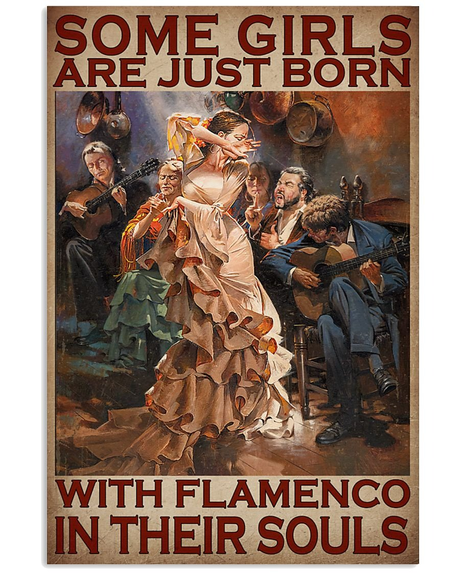 [LIMITED] Poster Some girls are just born with flamengo in their souls