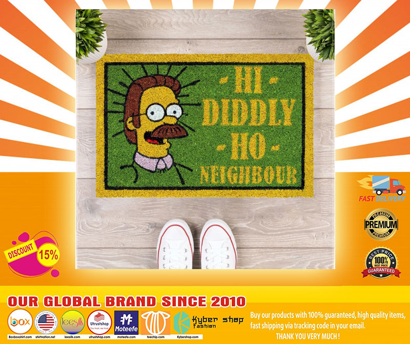 [LIMITED] Poster The simpsons hi diddly ho nighbour