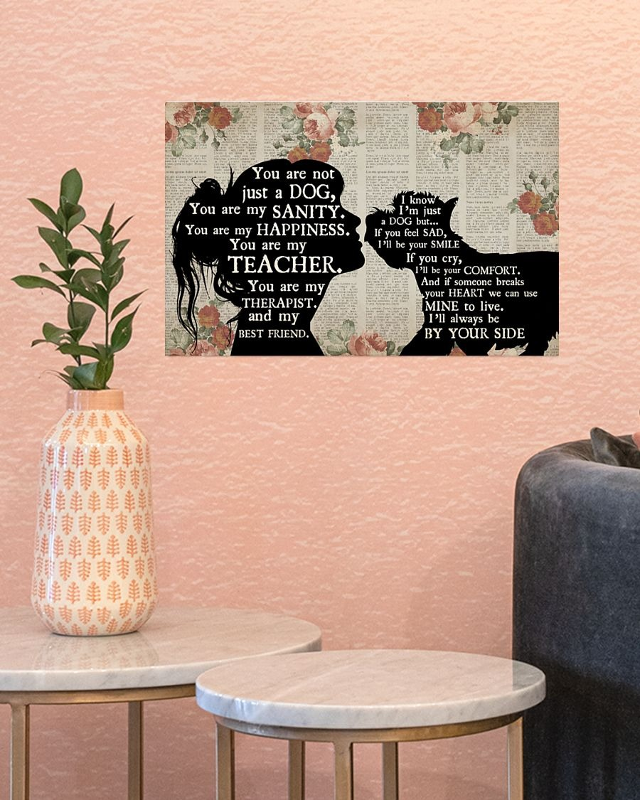 [LIMITED] Poster Westie dog girl therapist best friend